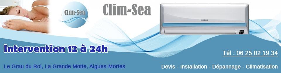 Climatisation Le Grau du Roi : Clim-sea